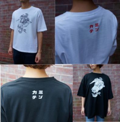 Tシャツ(寺田克也)白、黒